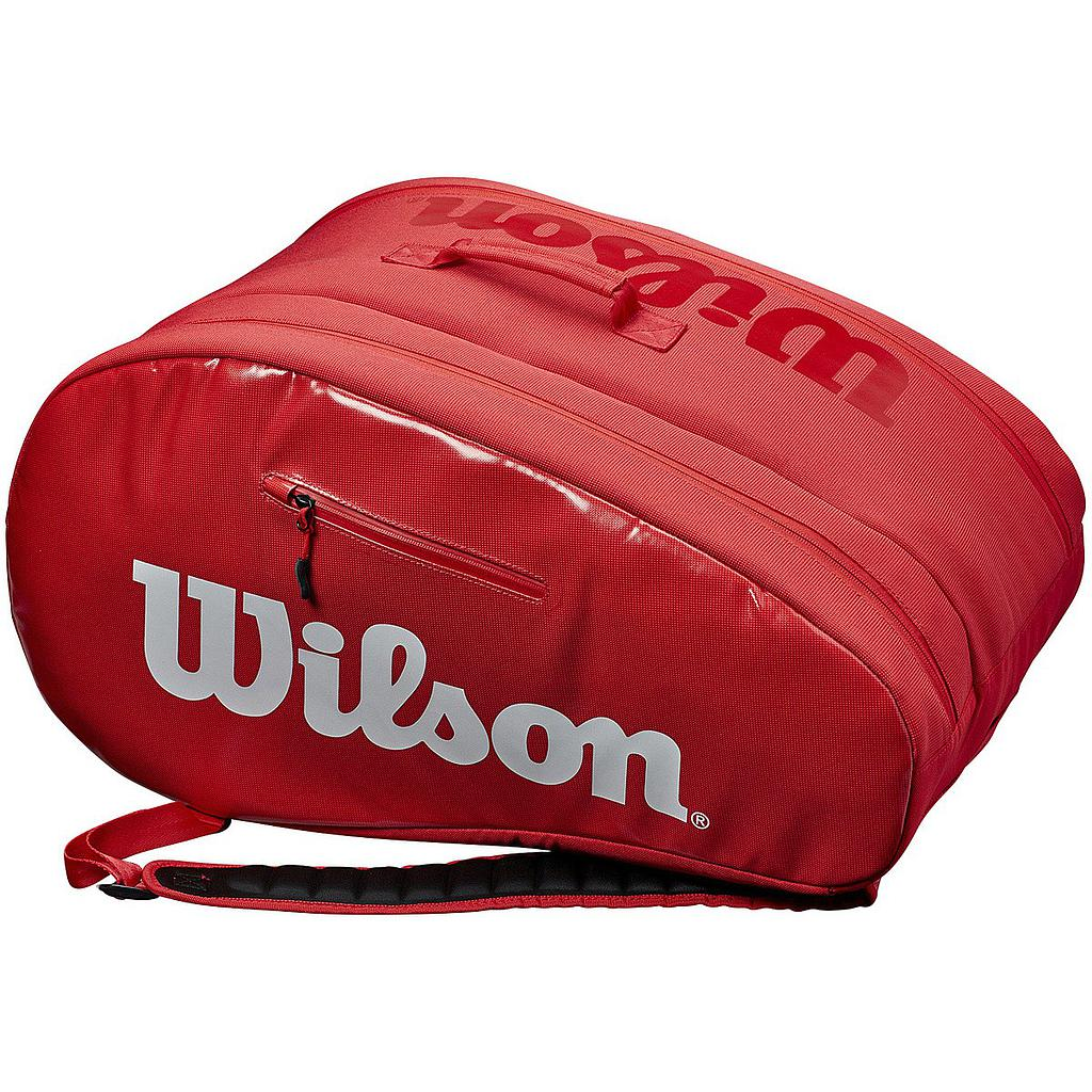 WILSON PADEL SUPER TOUR BAG RED